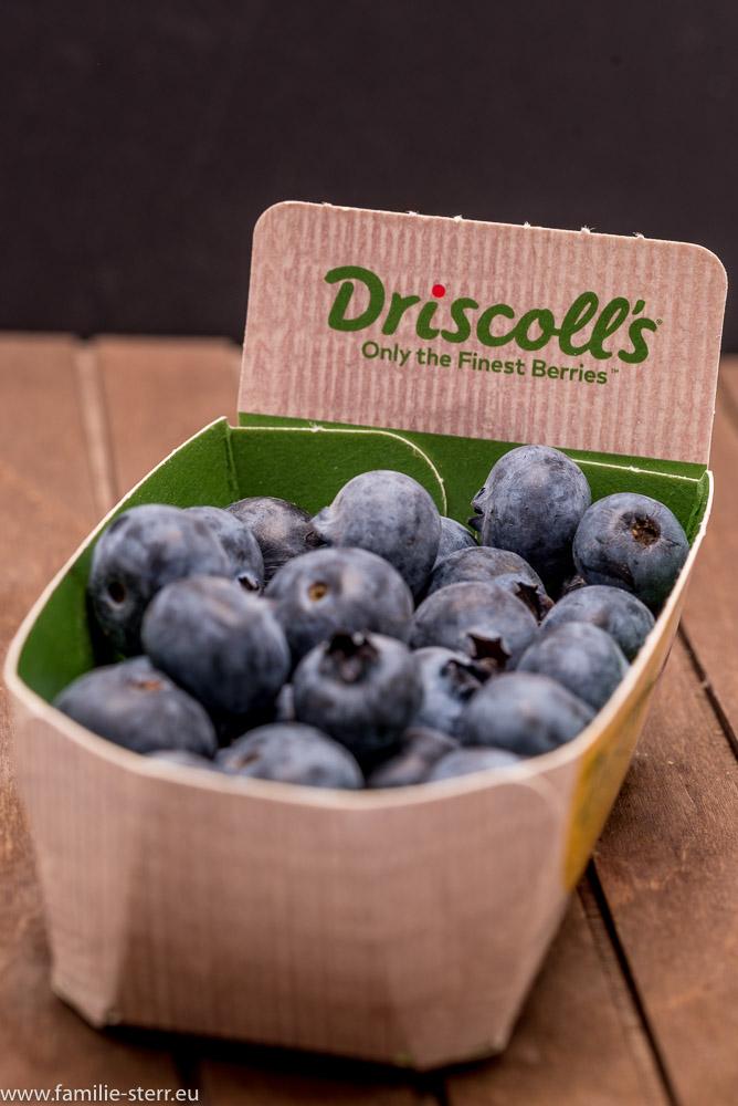 Blaubeeren von Driscoll's in Pappschale