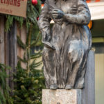 Elise Aulinger Brunnen am Münchner Viktualienmarkt