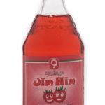 eine Flasche Jim Him / Brause aus der Brauerei Neunspringer