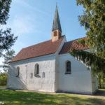 Kirche St. Martin - das letzte verbliebene Gebäude von Mallertshofen