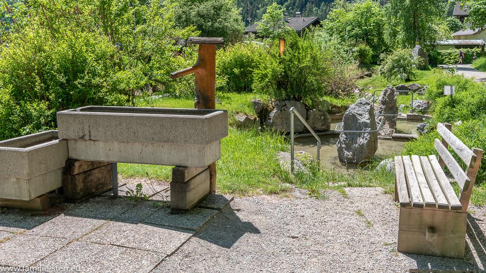 Kneipp - Becken in Weißbach