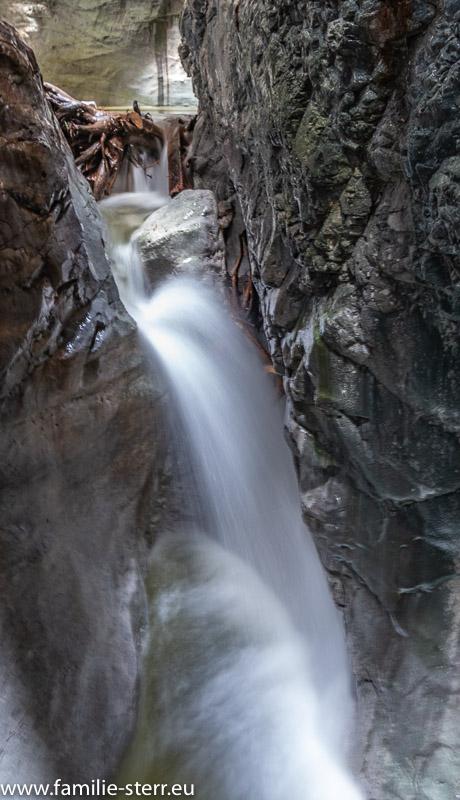 Wasserfall in der Vorderkaserklamm