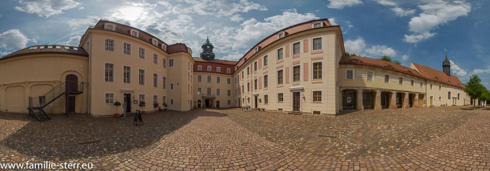 Innenhof von Schloss Lichtenwalde