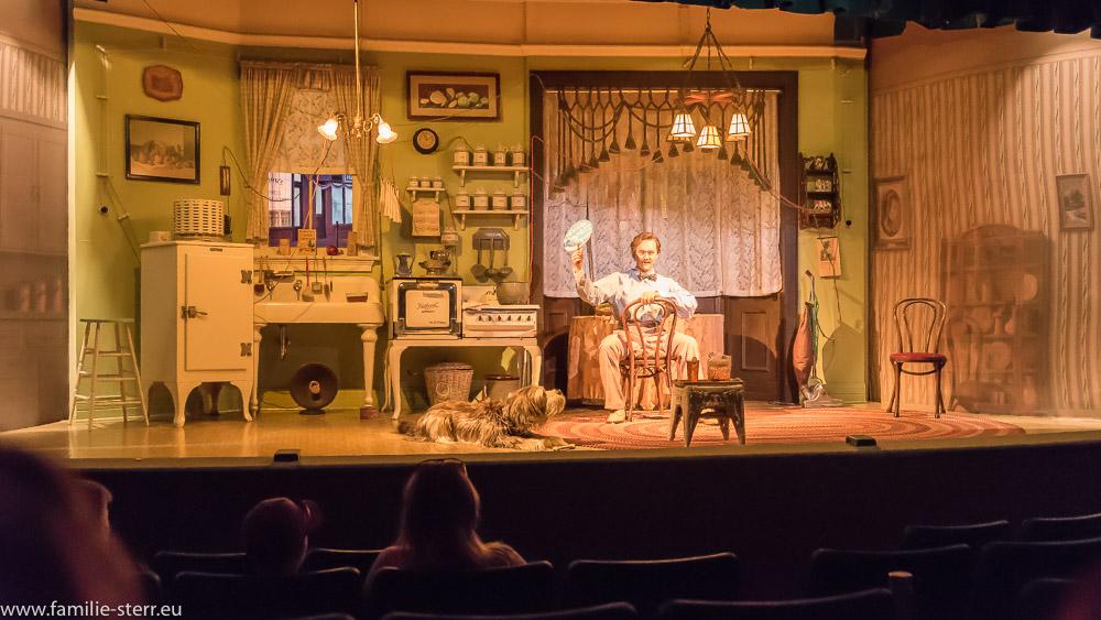 Szene aus dem Akt 2: die 20er Jahre im Carousel of Progress