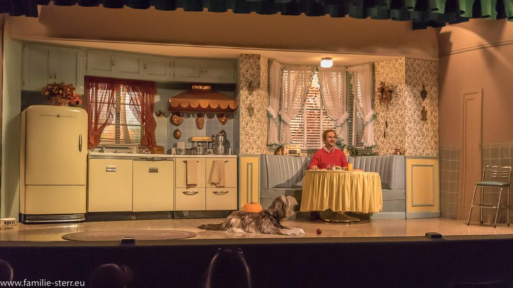 Szene aus dem Akt 3: die 40er Jahre im Carousel of Progress
