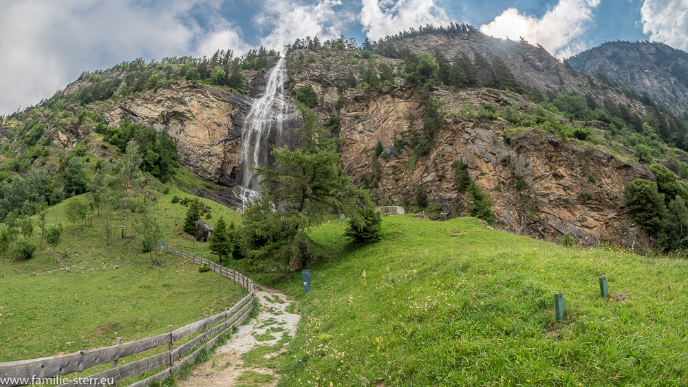 Fallbach Wasserfall im Maltatal in Kärnten