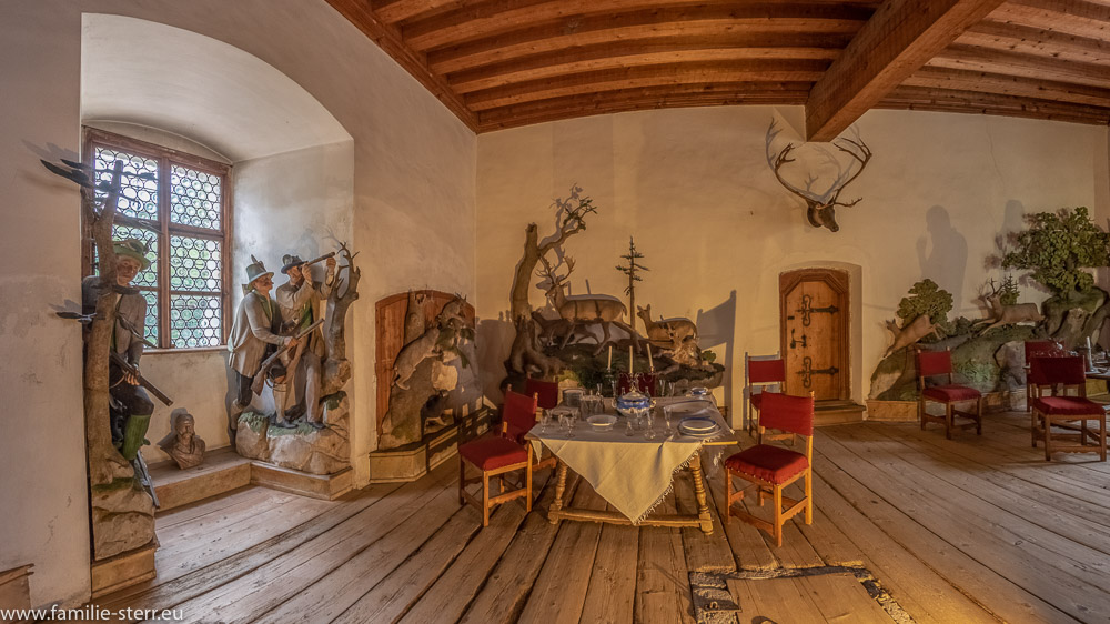 Jagdzimmer - Schloss Tratzberg