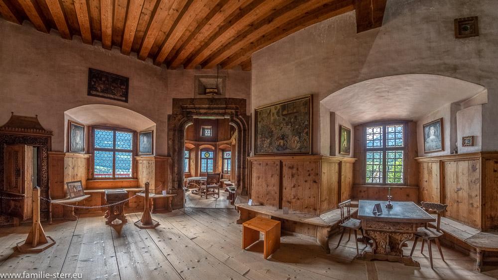 Fuggerzimmer im Schloss Tratzberg