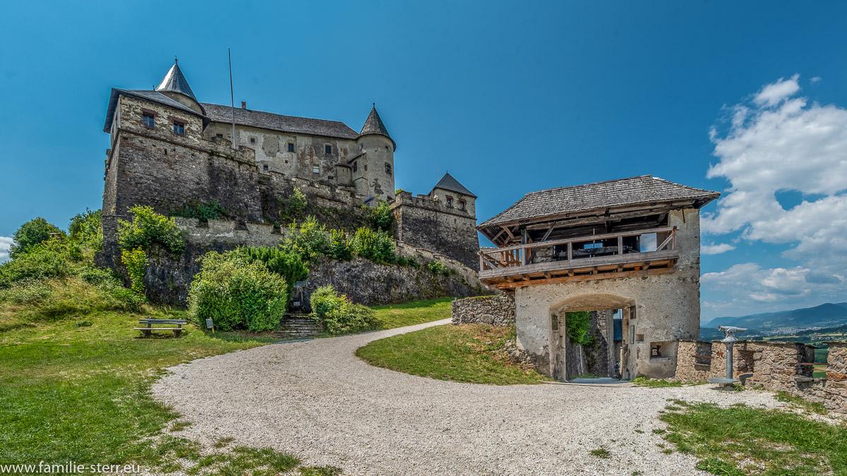 Kernburg und Befestigungsanlagen / Burg Hochosterwitz