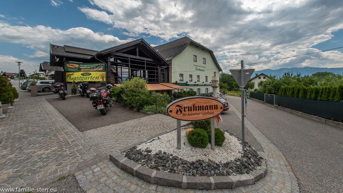 Gasthaus Fruhmann in Wernberg / Kärnten
