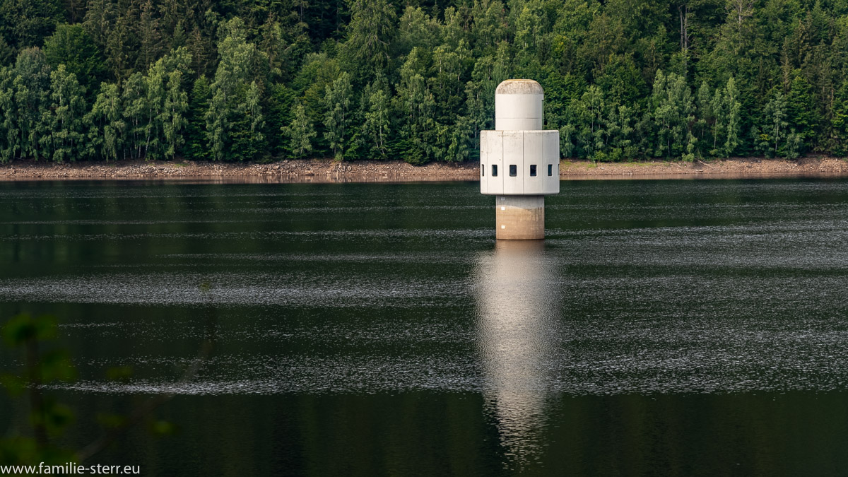 Entnahmeturm / Trinkwassertalsperre Frauenau