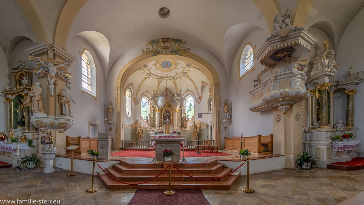 Altar der Kirche Johannes Nepomuk Bayerisch Eisenstein