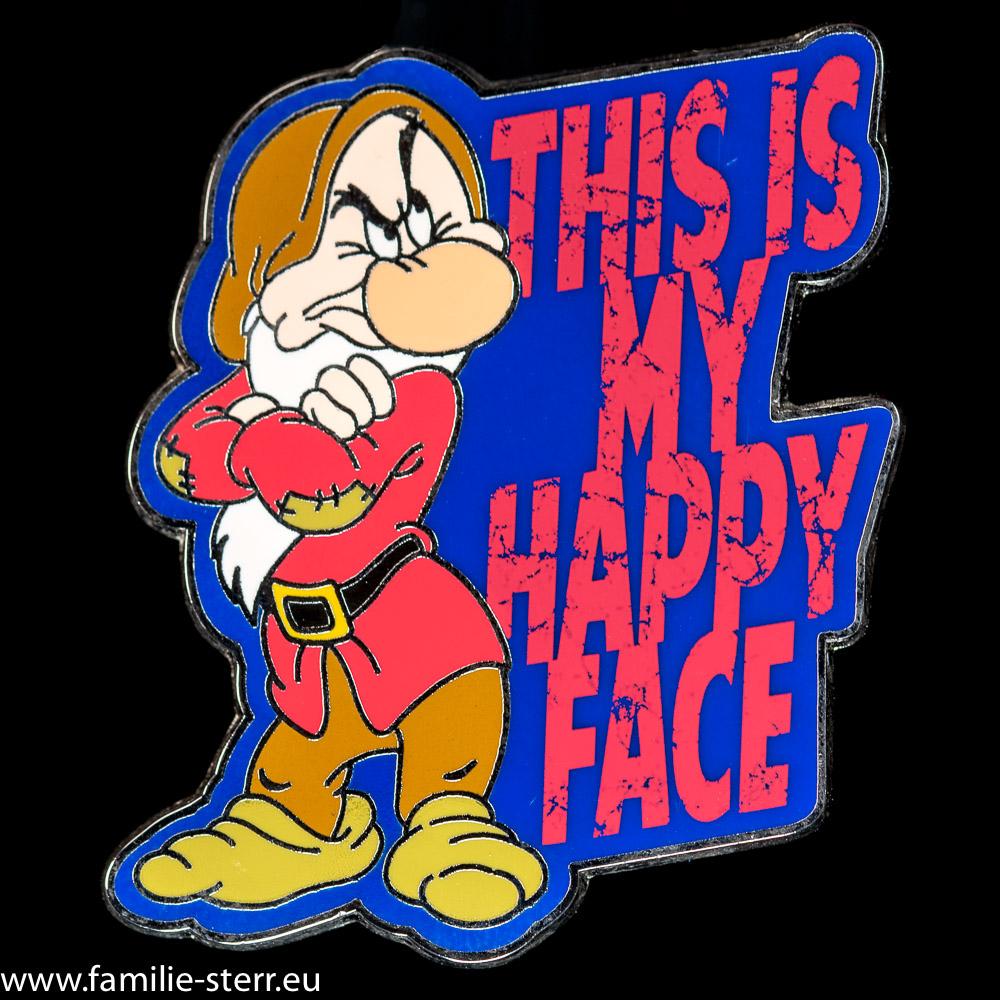 Pin von Grumpy aus Disney World