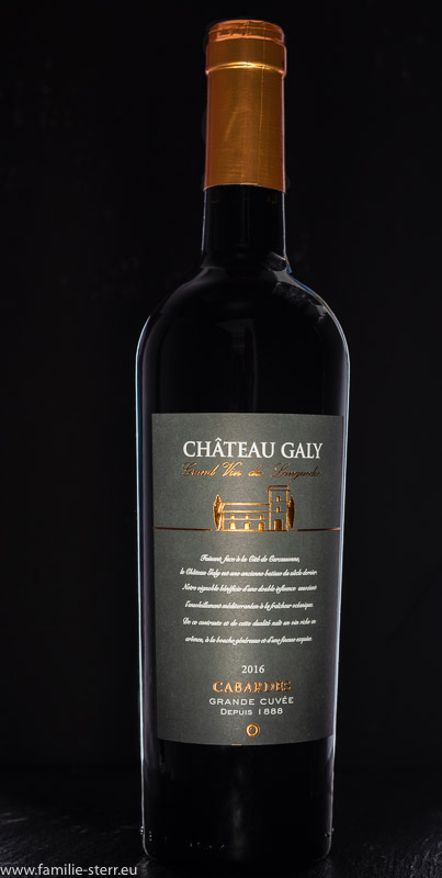 Chateau Galy 2016 / Grand Vin du Languedoc