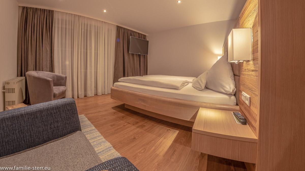 Blick in das Zimmer 31 (Heimatzimmer), eines der Lieblingszimmer im Hotel Das Reiners in Grafenau