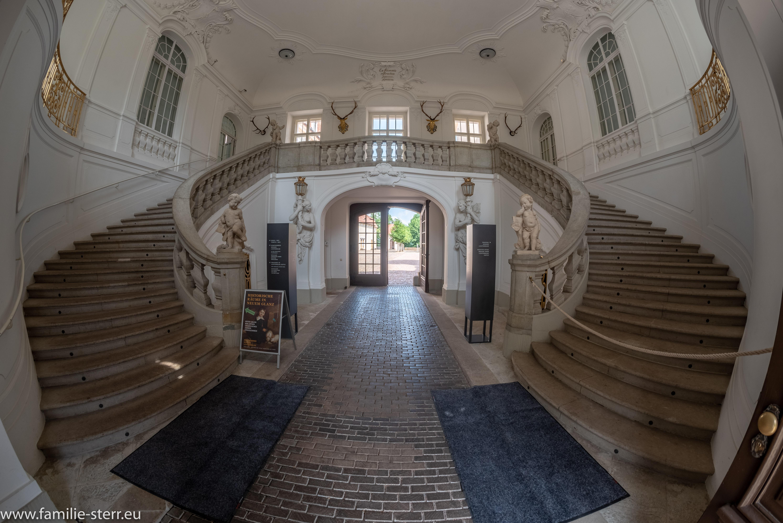 Prunktreppenhaus Schloss Lichtenwalde