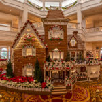 Das Lebkuchenhaus im Grand Floridian Resort, Disney World, Florida
