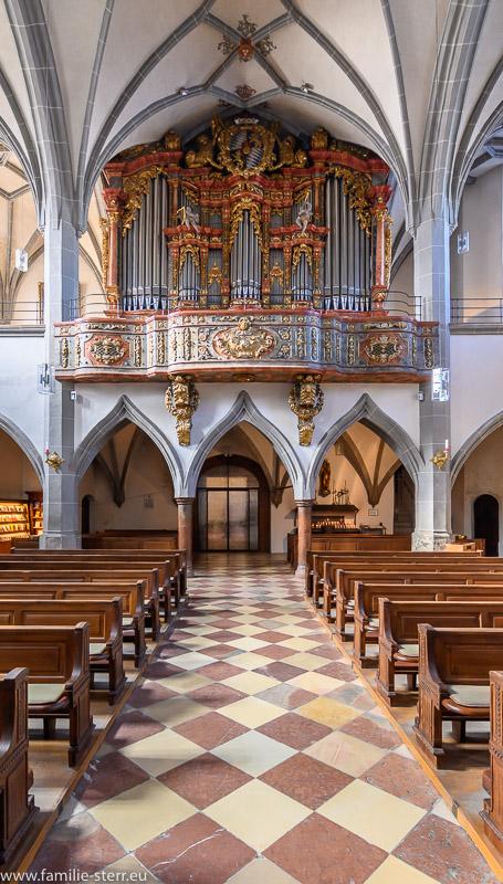 Orgel der Pfarrkirche Altötting