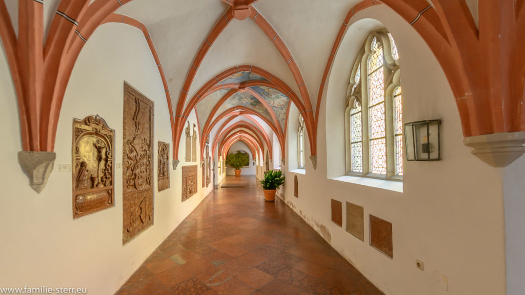 Kreuzgang der Pfarrkirche Altötting