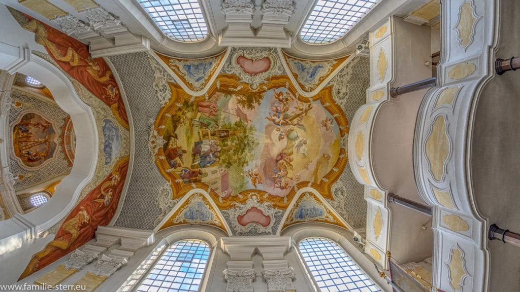 Deckenfresko der Wieskirche bei Freising