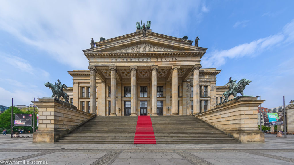 Konzerthaus Berlin am Berliner Gendarmenmarkt