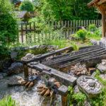 die Marmorkugelmühle Untersberg bei Marktschellenberg im Berchtesgadenerr Land