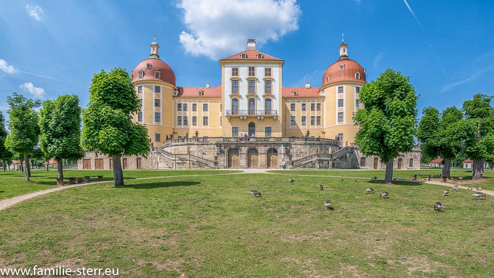 Schloss Moritzburg - Westansicht