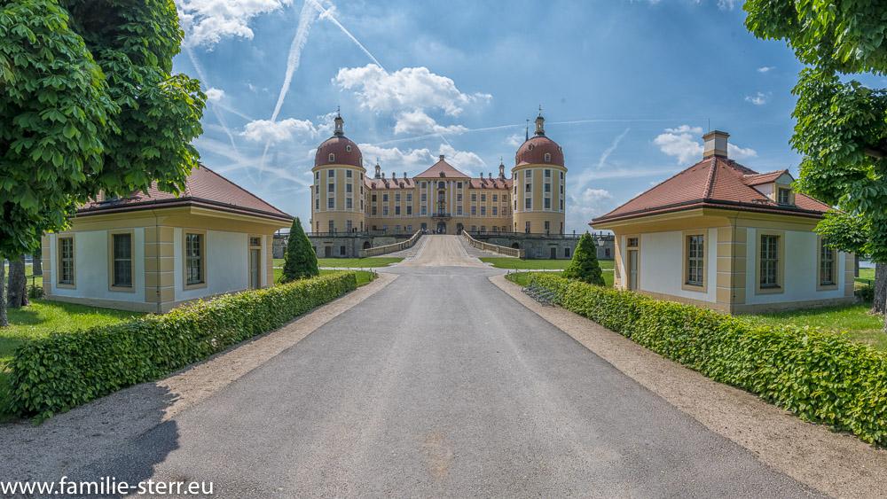 Schloss Moritzburg - Nordansicht