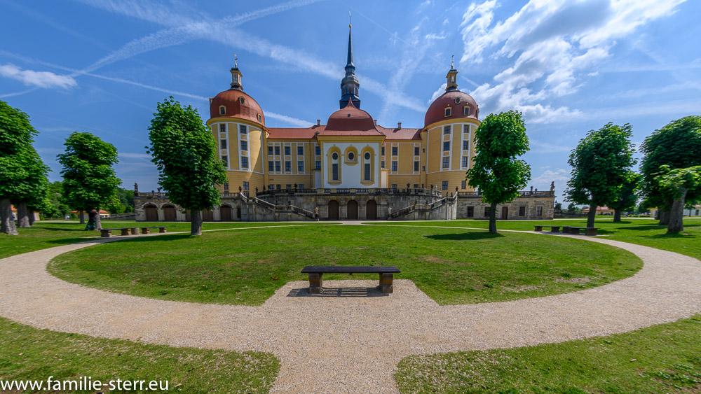 Schloss Moritzburg - Ostansicht