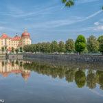 Schloss Moritzburg - Auffahrt