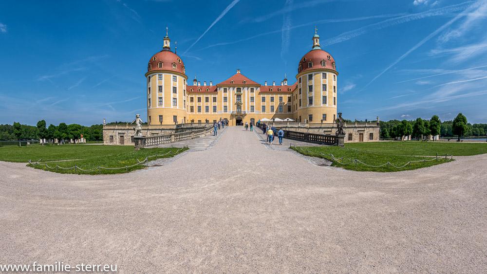 Schloss Moritzburg - Südansicht