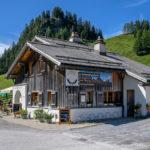 der Gasthof Beruf am Kunkelspass in Graubünden