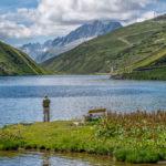 Fischer am Oberalpsee / Kanton Uri