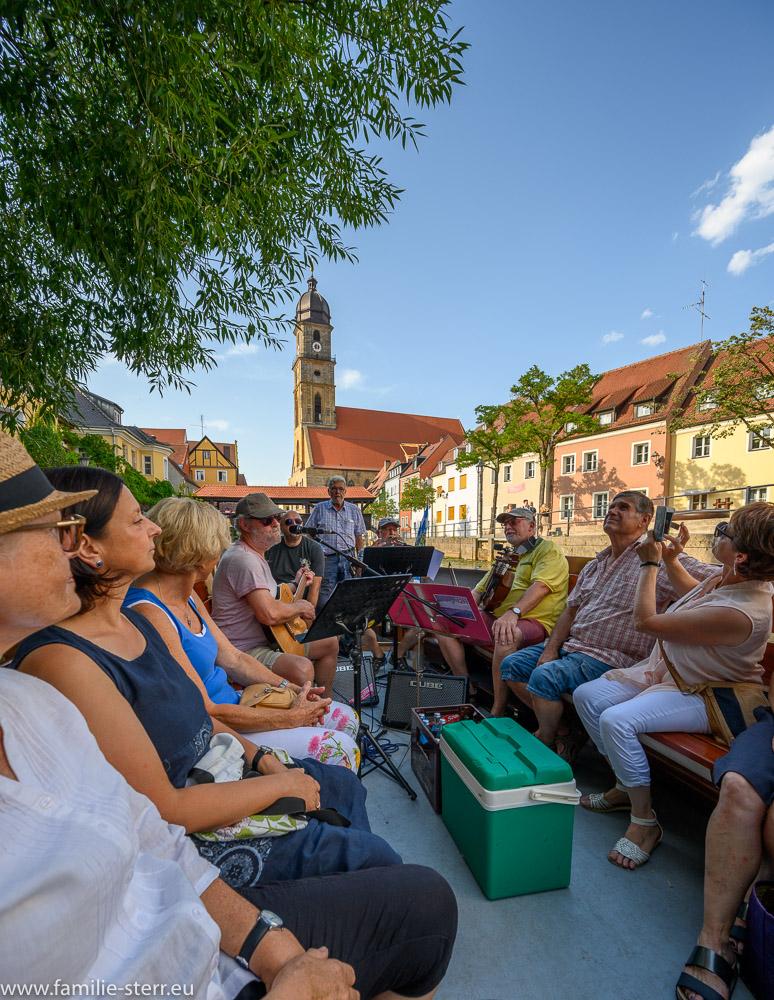 Musikplättenfahrt auf der Vils in Amberg mit Straight2H