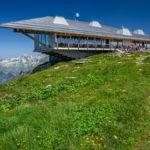 Bergstation der Chäserrugg - Seilbahn