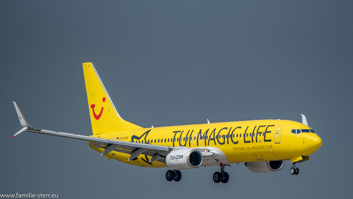 "Boeing B737-8K5 TUI fly ""TUI Magic Life"" Livery"