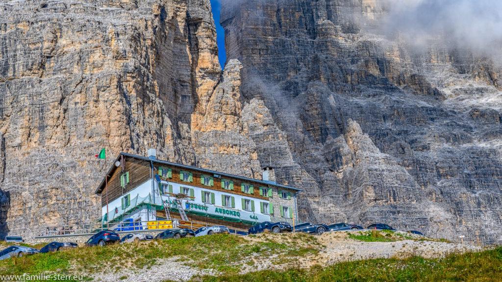 Auronzo - Hütte vor den Drei Zinnen