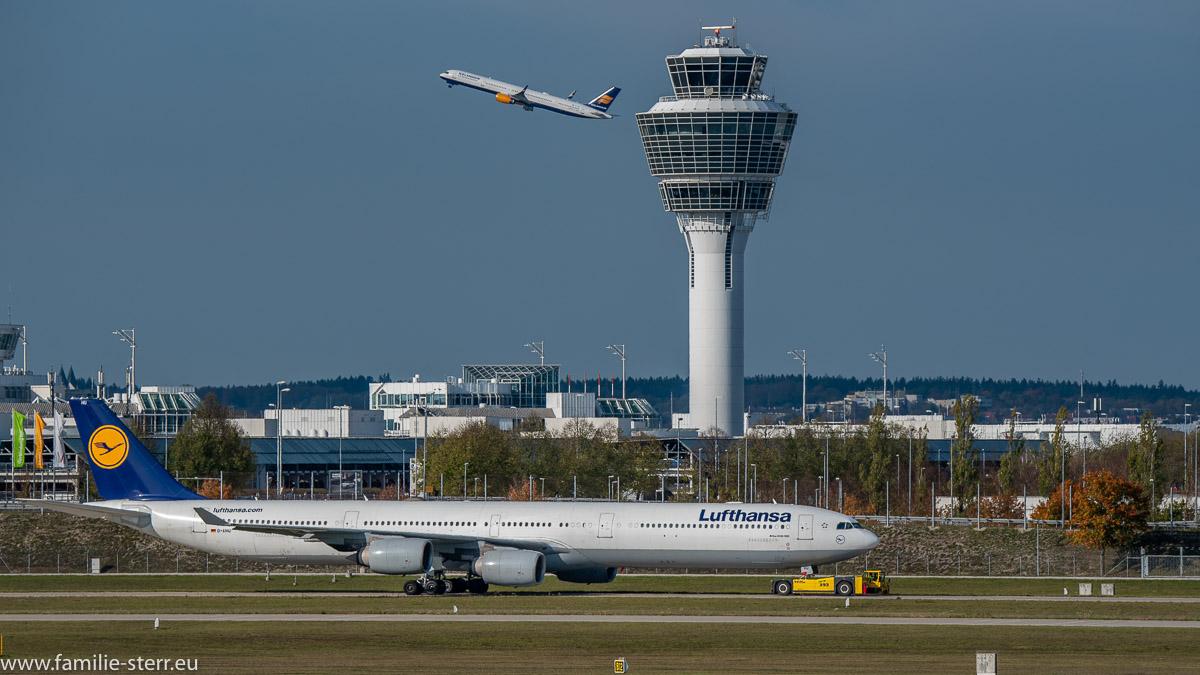 Airbus-A340-642-Lufthansa D-AIHD