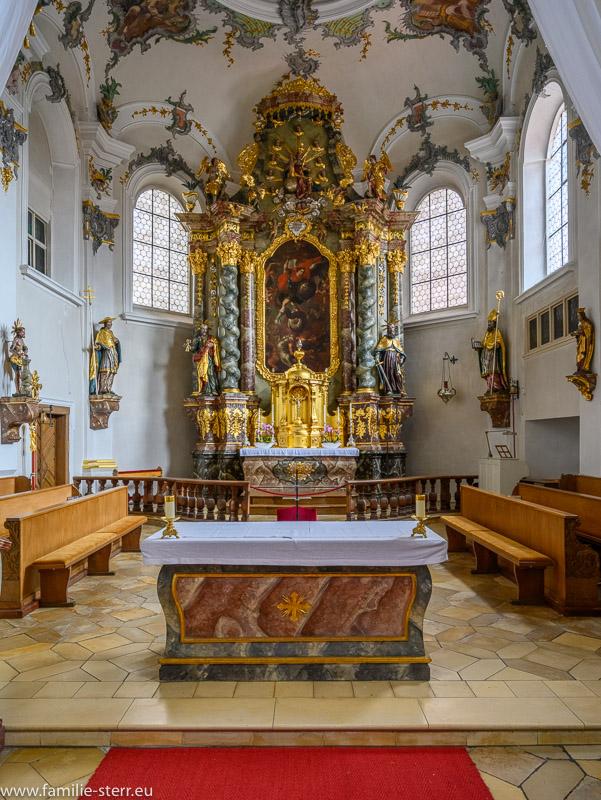 Alter und Hochalter der Kirche St. Michael Kallmünz