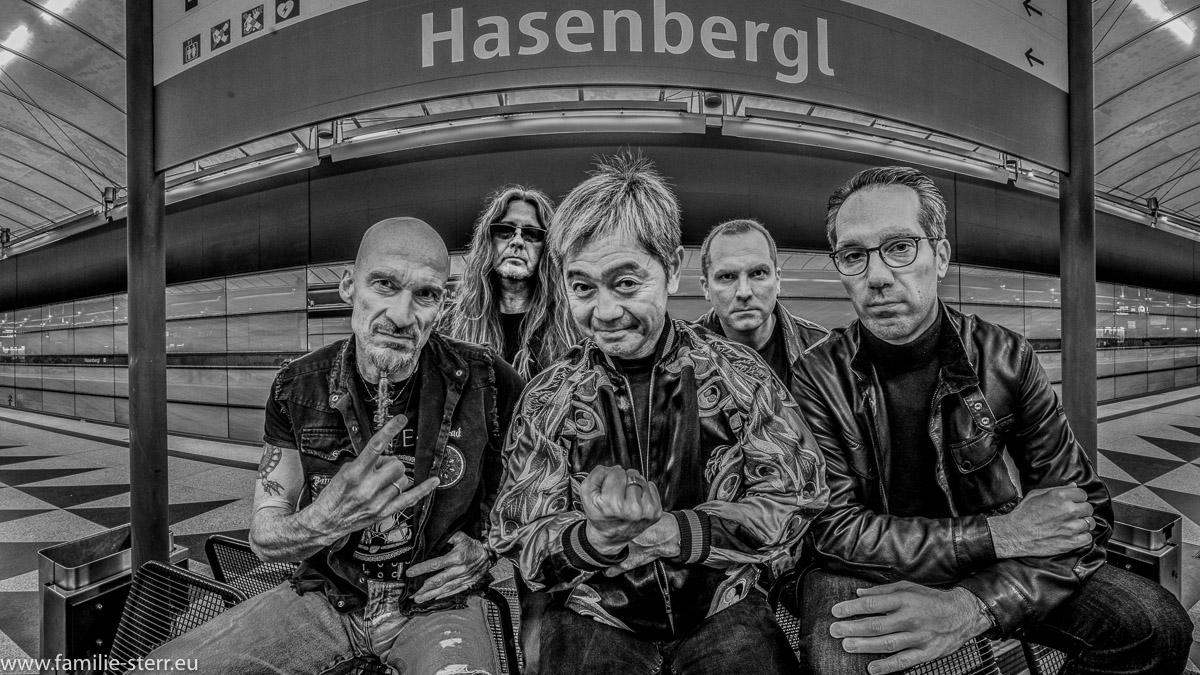 "Rockgruppe ""Rabbit Hill"" aus München"