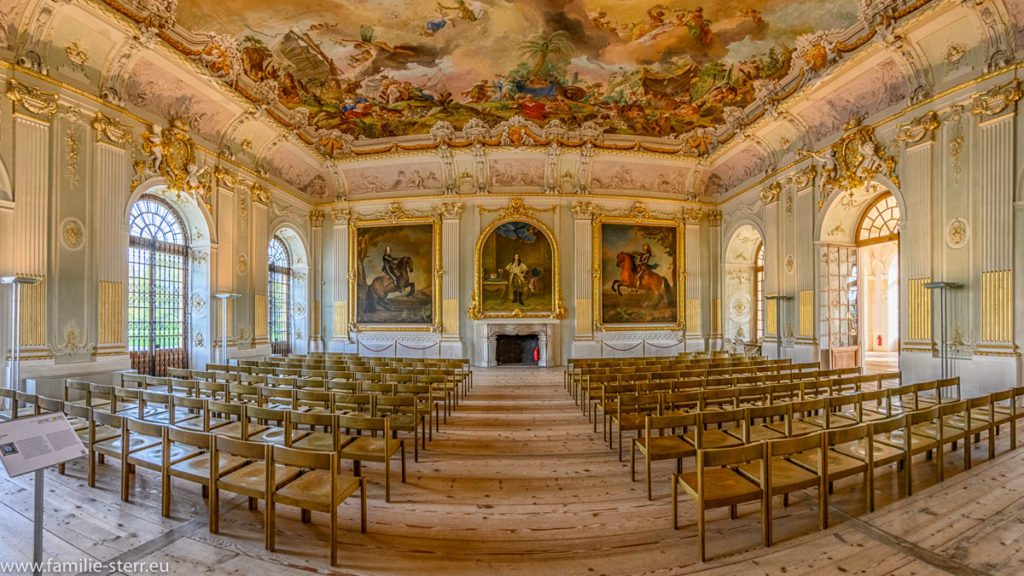 der Viktoriensaal im Neuen Schloss Schleissheim