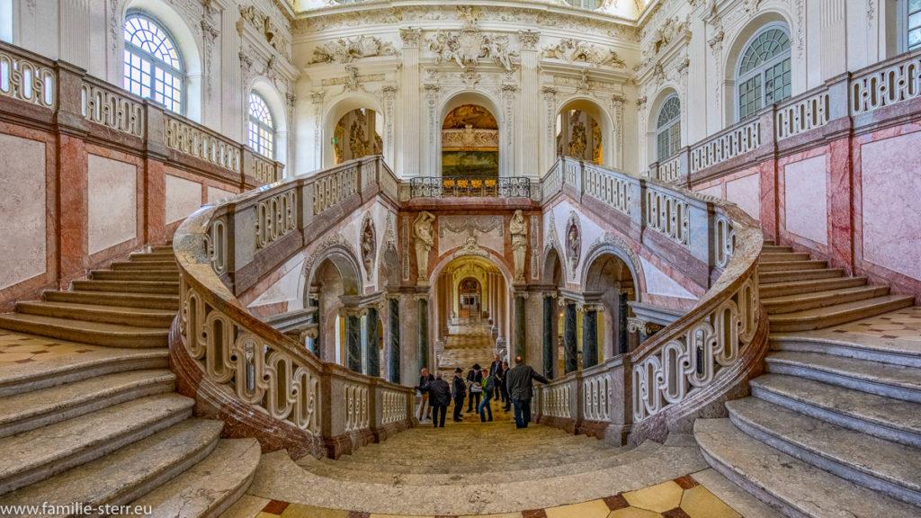 Marmor - Treppenhaus im neuen Schloss Schleißheim