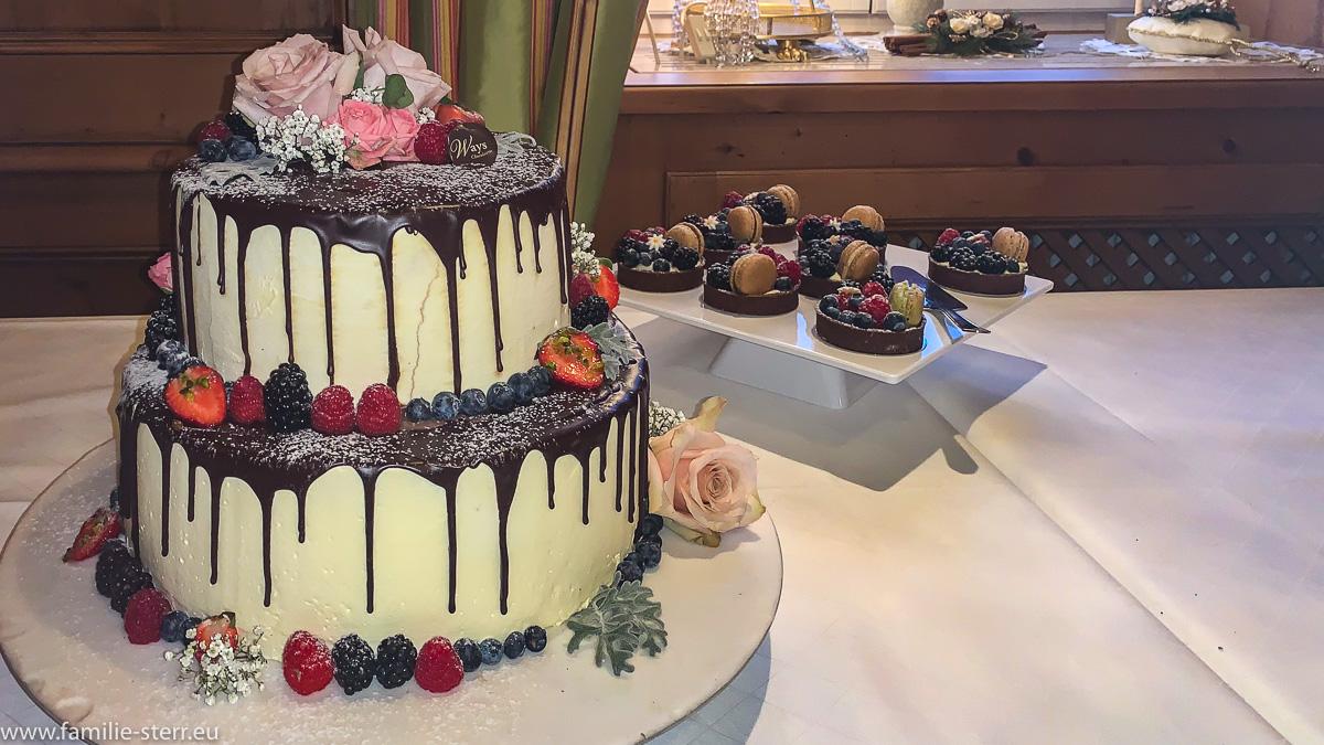 Katharinas Schokoladen - Hochzeitstorte