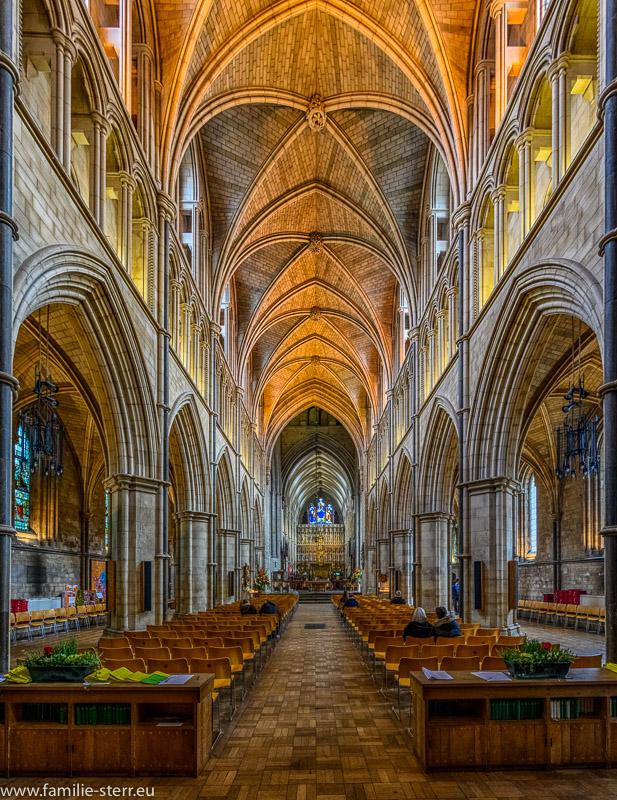 Kirchenschiff der Southwark Cathedral