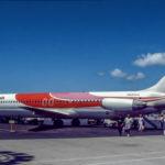 DC-9-51 Hawaiian Air N698HA am Flughafen in Honolulu beim Boarding