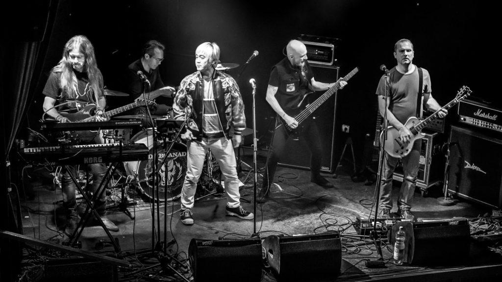 die Band Rabbit Hill beim Konzert im Backstage Club in München