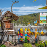 Insektenhotel bei der Joska - Glaswelt in Bodenmais