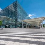 Außenansicht Abflugebene Terminal 2 am Flughafen München