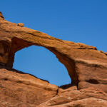 Steinbogen im Arches National Park in Utah