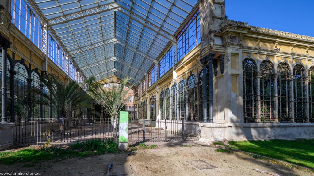 Hivernacle - Wintergarten im Parc Ciutadella in Barcelona